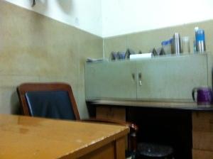 police station desk