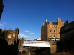 February in Edinburgh - glorious weather - a view from the canal-side walk