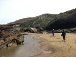 March, Cornwall beaches