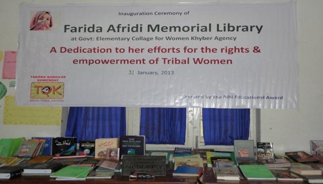 The Farida Alfrida Memorial Library