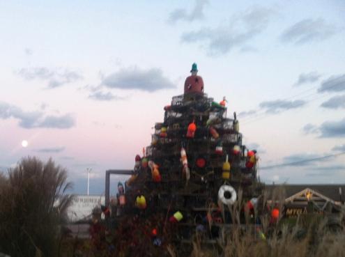 The lobster pot tree