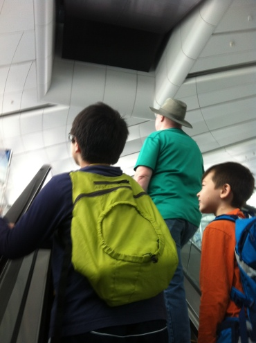 On the escalator to the second queue level