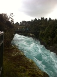 Huka Falls, at Taupo